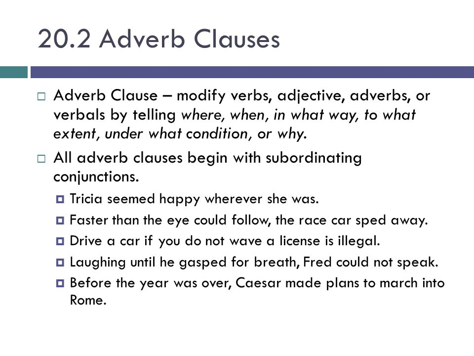 Chapter 20 Phrases & Clauses. - ppt video online download