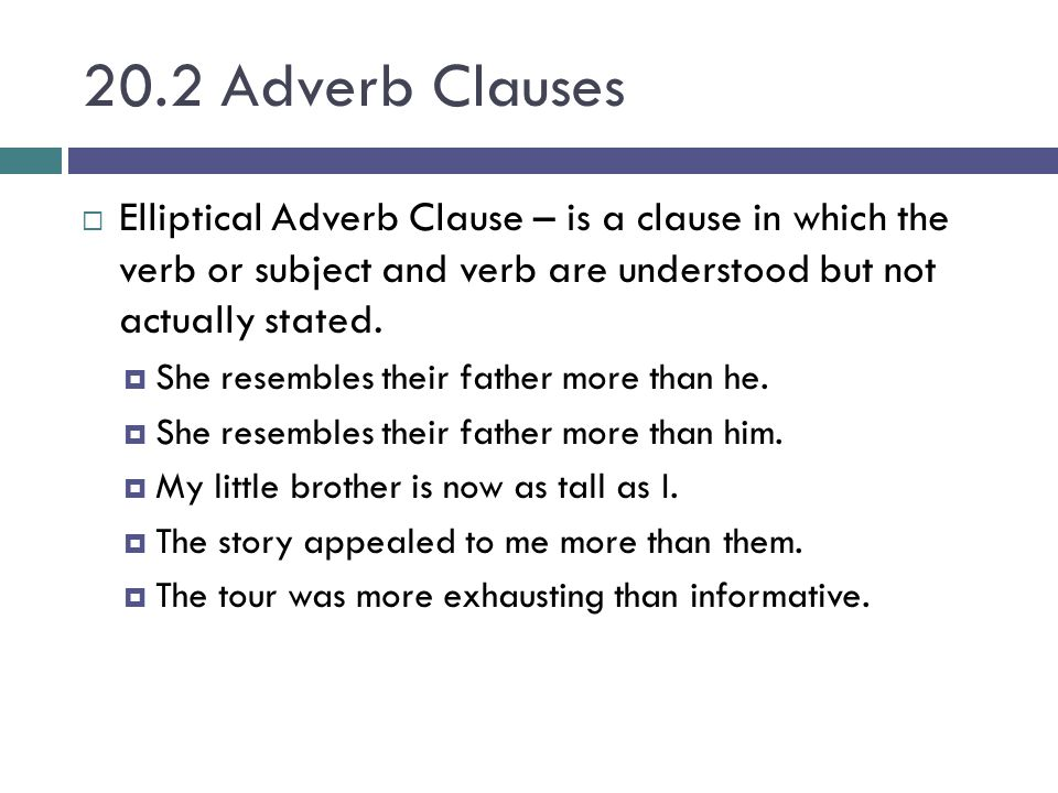 chapter 20 phrases amp clauses ppt video online download
