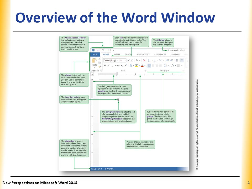 Overview of the Word Window