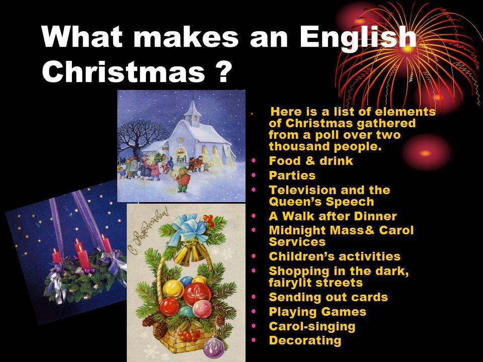 What makes an English Christmas