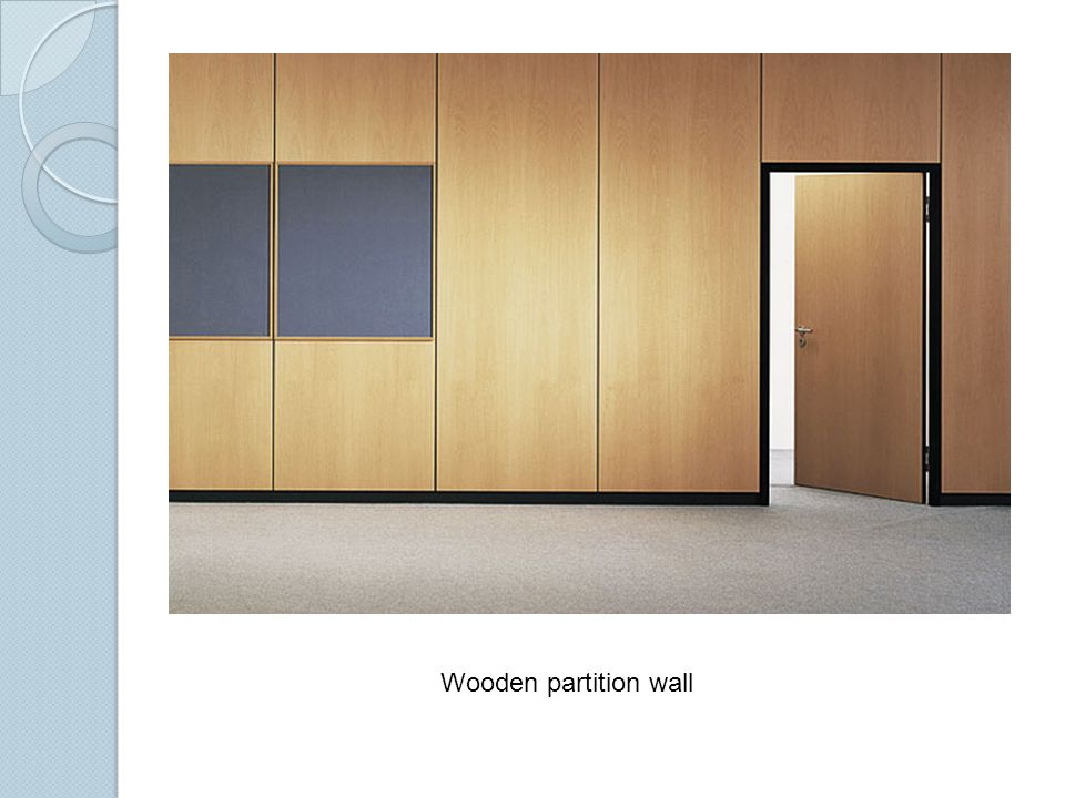 Partition Walls Building Materials Construction Ppt