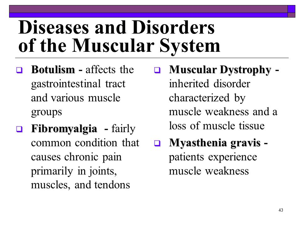 medical assisting chapter ppt video online  diseases and disorders of the muscular system