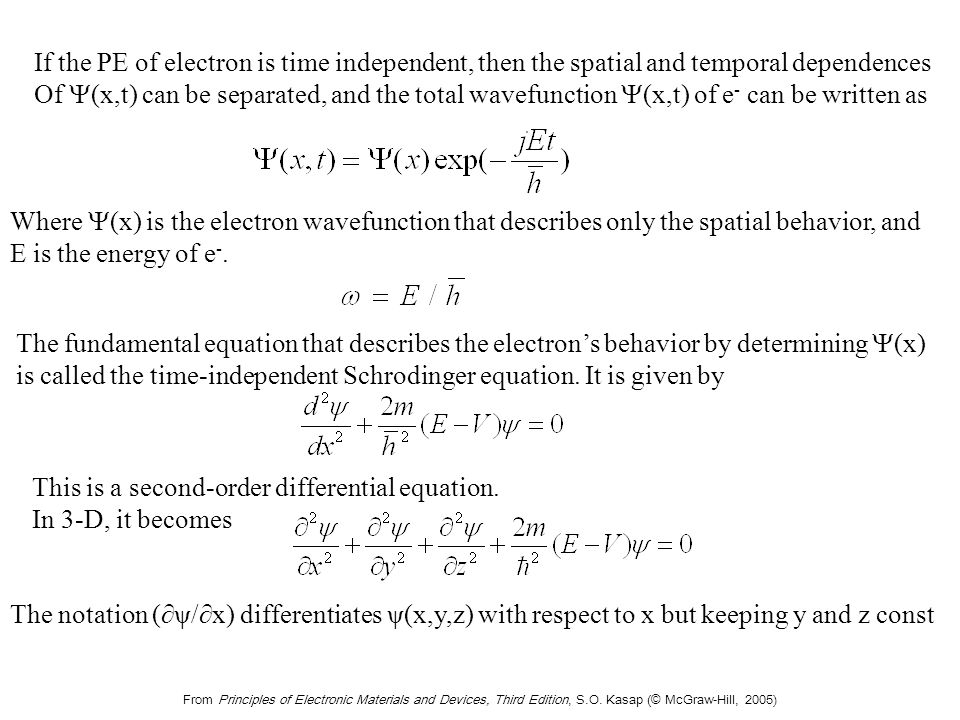 Steady-state probability distribution of electron is given by