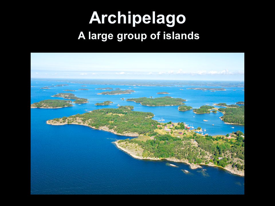 A Large Group Of Islands 56