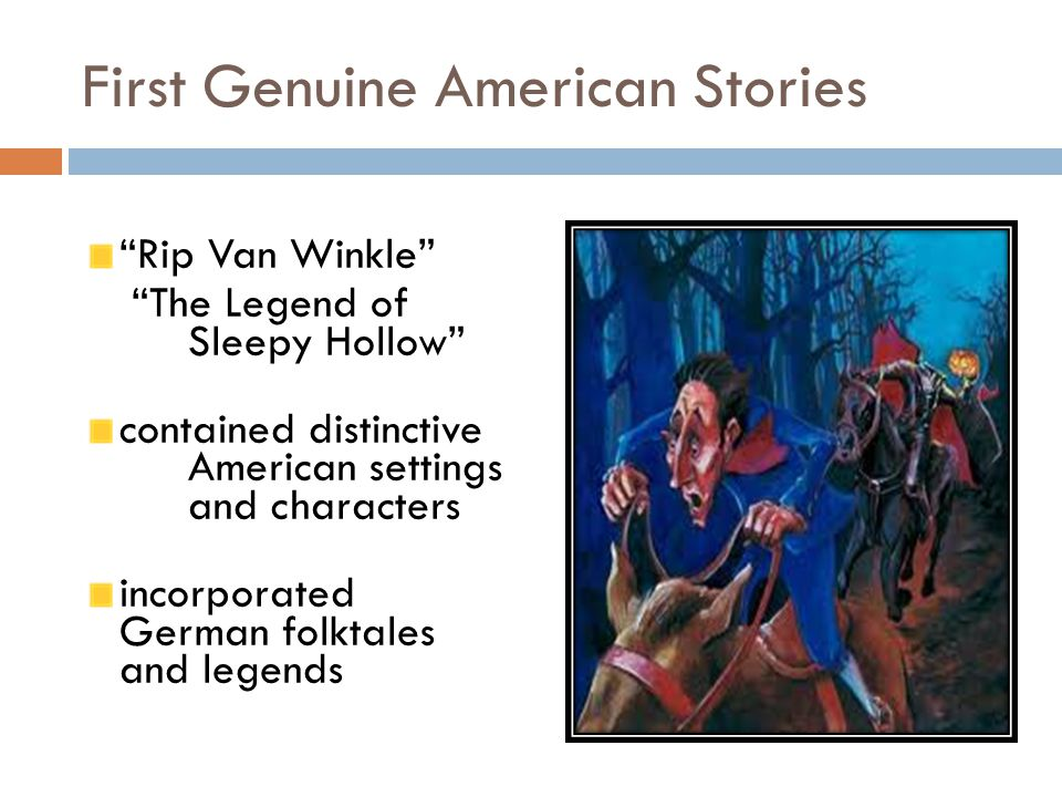 an analysis of the story of rip van winkle a german folktale This one-page guide includes a plot summary and brief analysis of rip van winkle by washington irving  that the story seems oddly similar to old german folk tales.