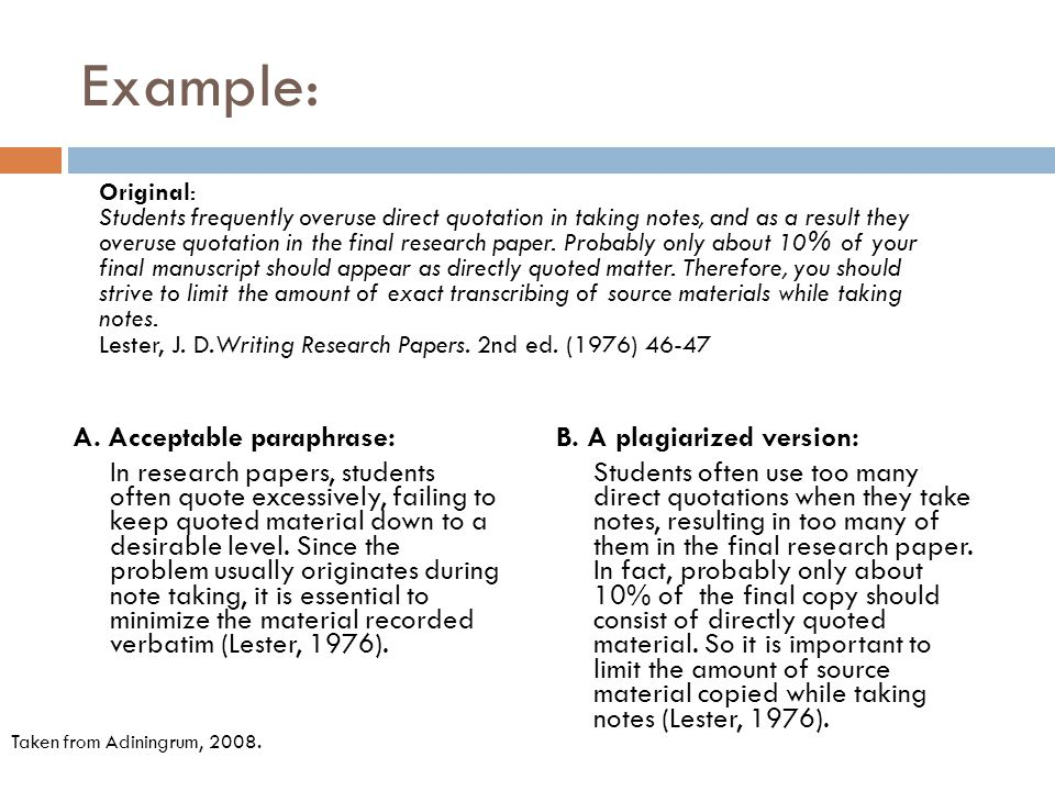 How To Paraphrase In An Essay Referencing Paraphrasing Ppt Video