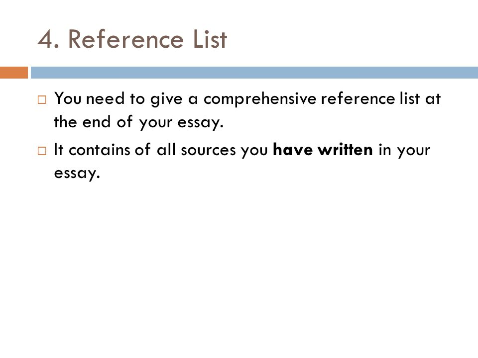 referencing in essays Create references page (which includes all in-text citation material) compare essay with formatted sample essay proofread your essay additional help for more help.