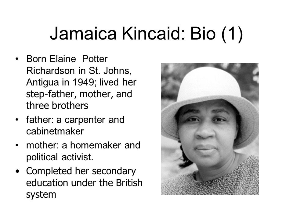 jamaica kincaid on seeing england for the first time essay
