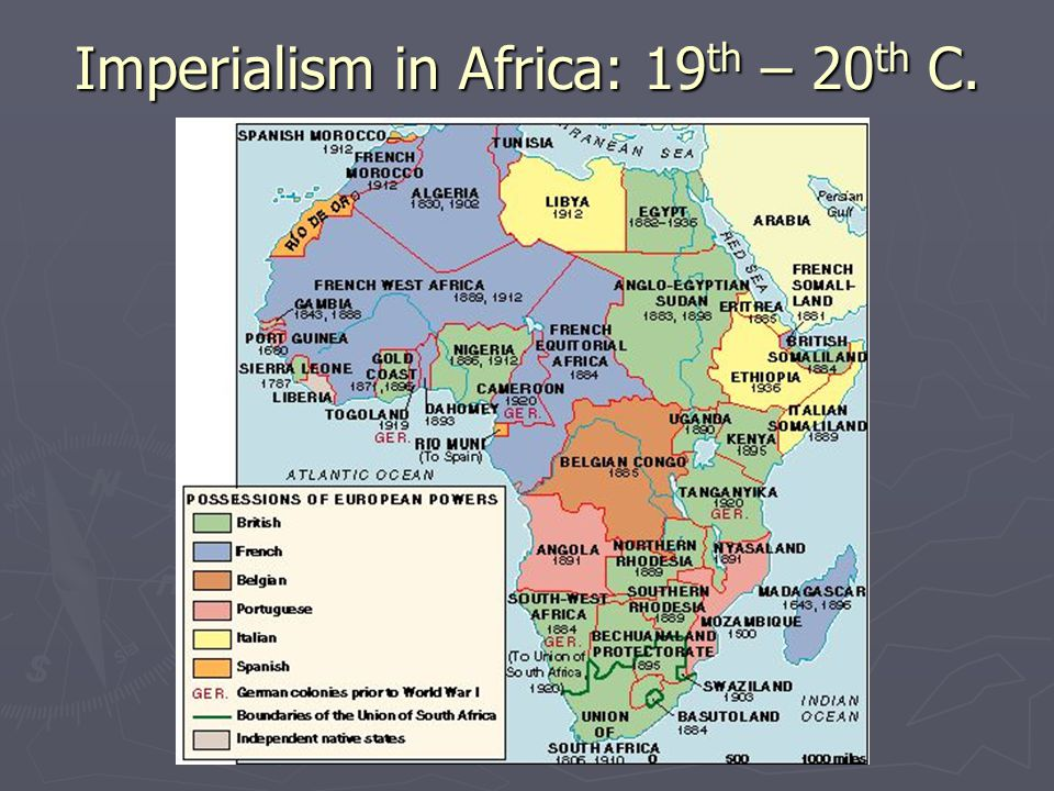 the imperialist expansion of italy in 19th century africa Facilitating imperialism through advanced technologies the role of technology in facilitating the growth of european empires during the nineteenth century has been widely discussed by historians.