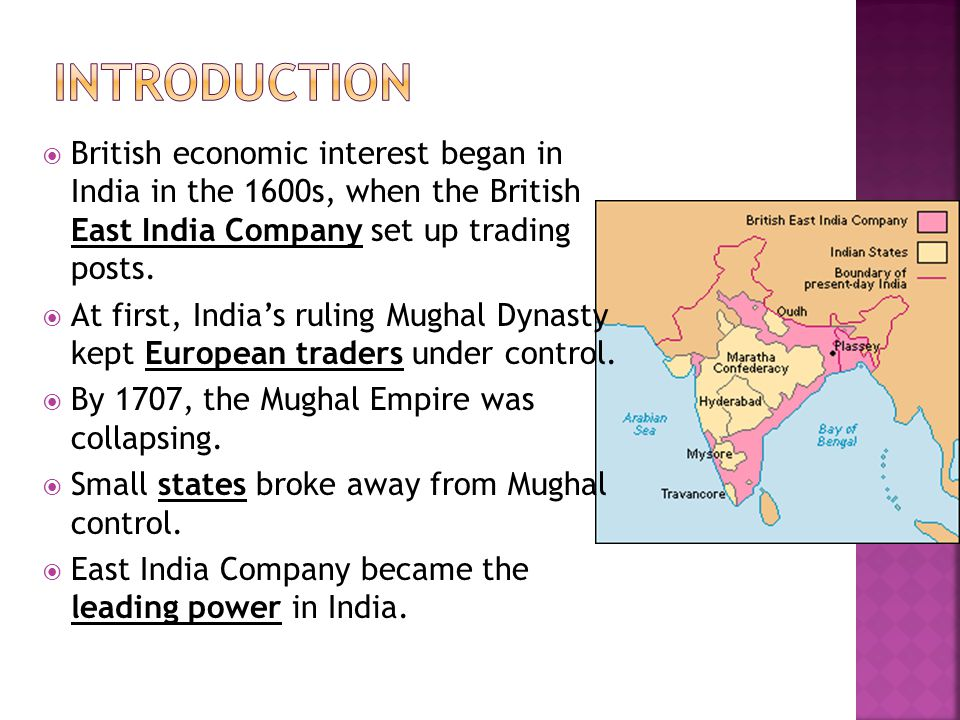 british empire in india the