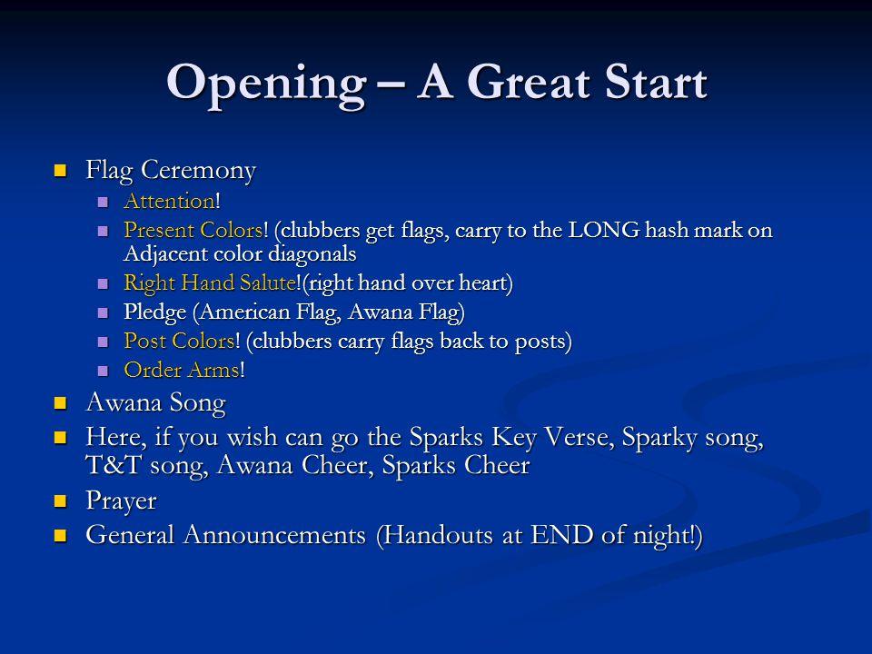Awana Sparks Verses List