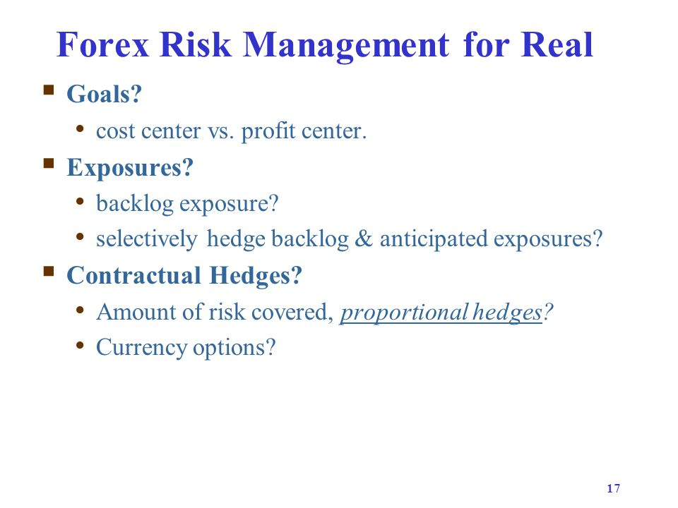 Forex exposure management ppt