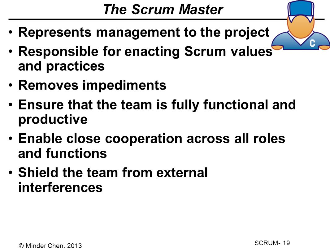 An introduction to scrum ppt video online download for Master project management online