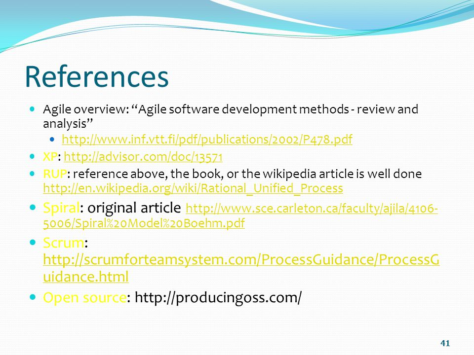 references agile overview agile software development methods review and analysis http - What Is Agile Methodology Pdf