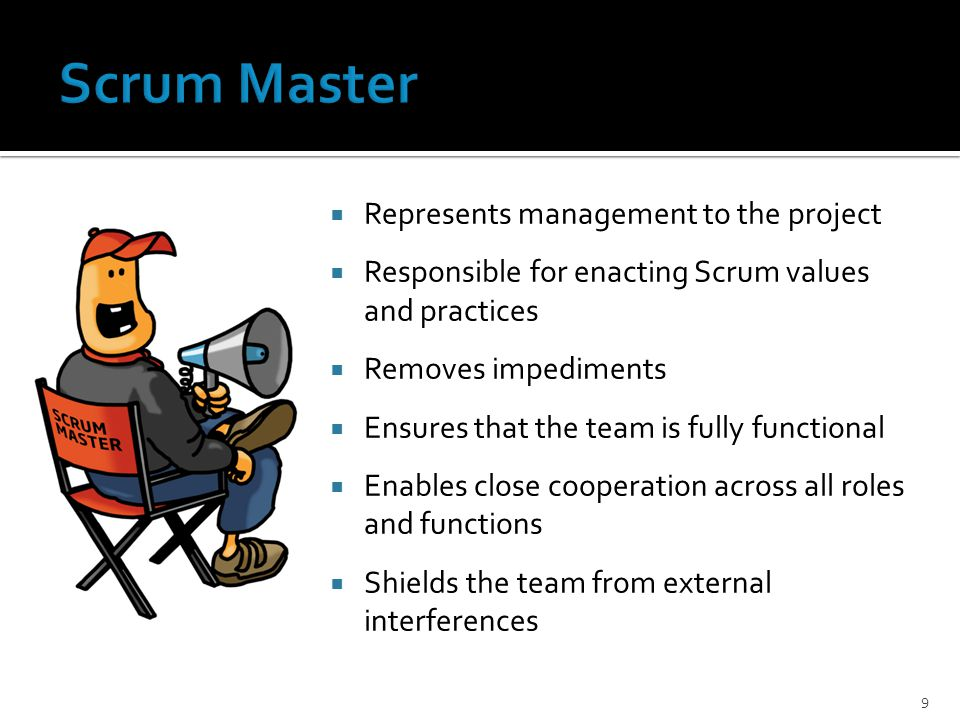 Scrum cs these slides were created by kevin schenk bs in for Master project management online