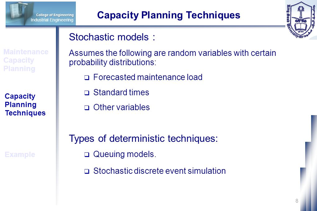 capacity planning model essay The financial model takes care of critical  financial forecasting and planning for  financial forecasting and planning for business introduction.