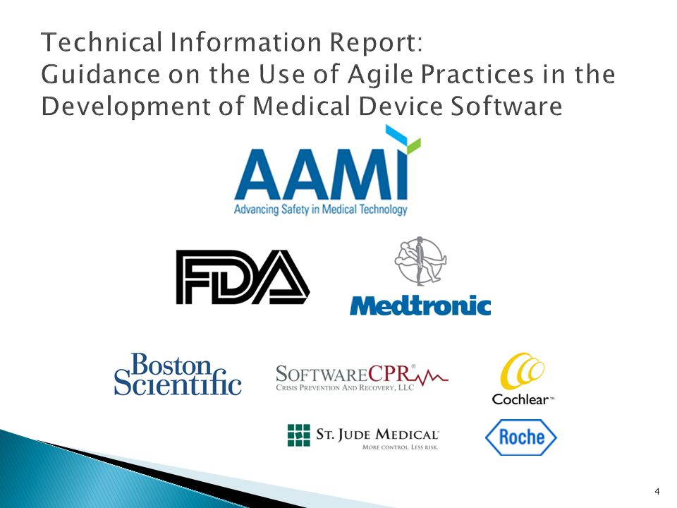 Technical Information Report: Guidance on the Use of Agile Practices in the Development of Medical Device Software