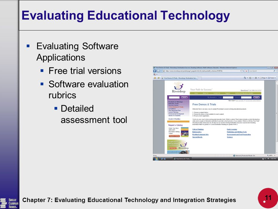 Evaluating Educational Technology And Integration Strategies  Ppt