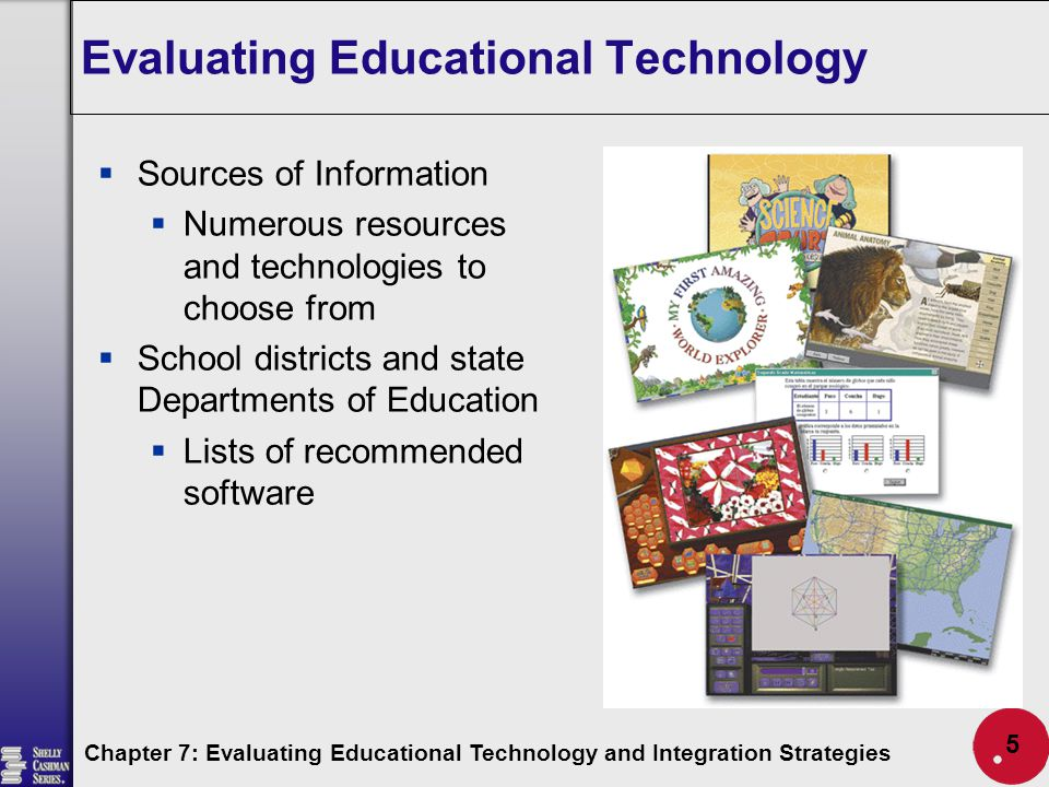 evaluating technology integration Yet the evaluation of technology integration, including professional development for technology integration, has done little to define what constitutes effective practices for realizing such potential so although the images of our classrooms have significantly changed.