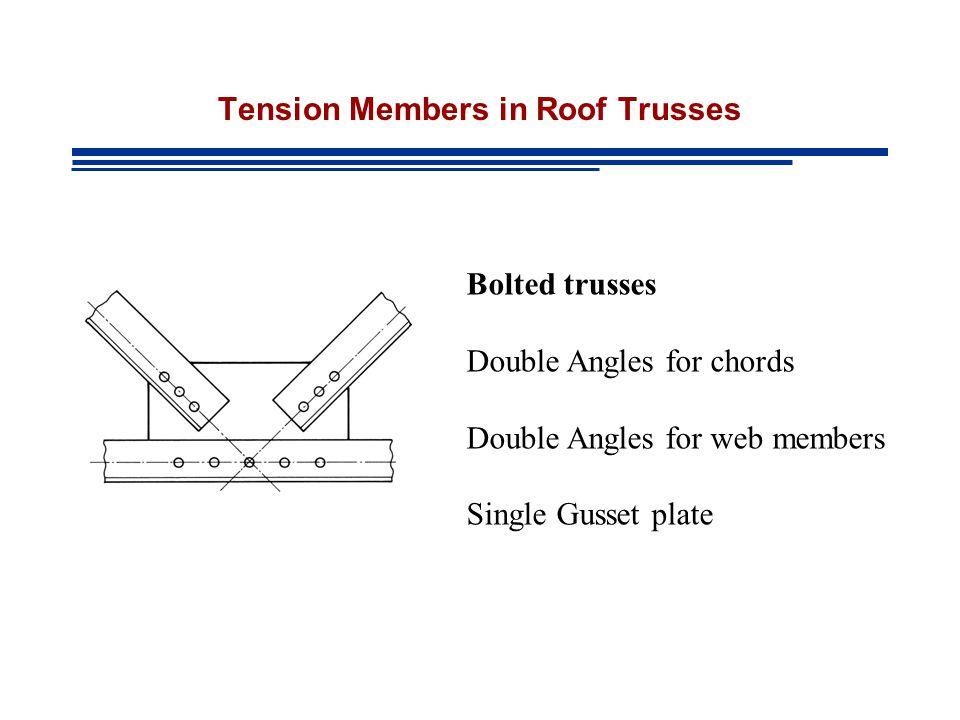 Design Of Tension Members Ppt Video Online Download