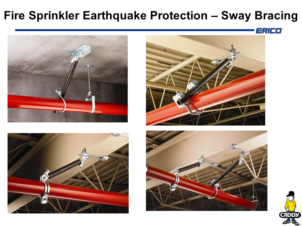 Fire Sprinkler Earthquake Protection Sway Bracing Ppt