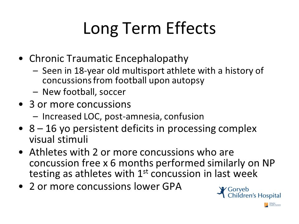 the long term effects of playing football essay Three million american kids take part in tackle football programs, and research has largely focused on the long-term effects of concussions, a form of traumatic brain injury.