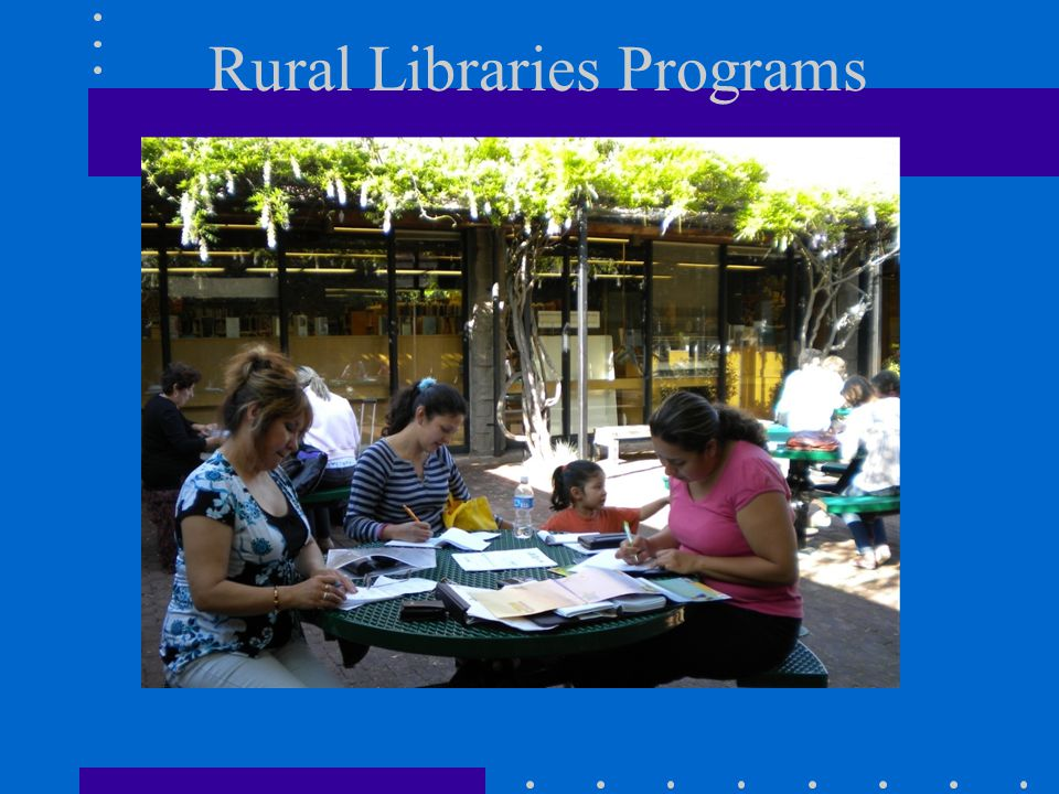 Rural Libraries Programs