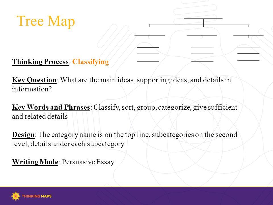 thinking maps for writing essays