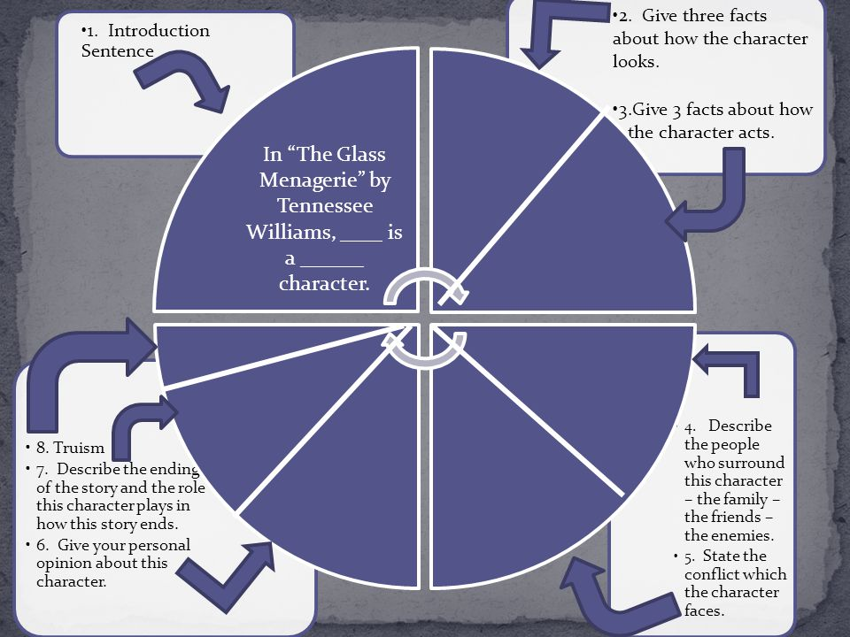Essay on the glass menagerie