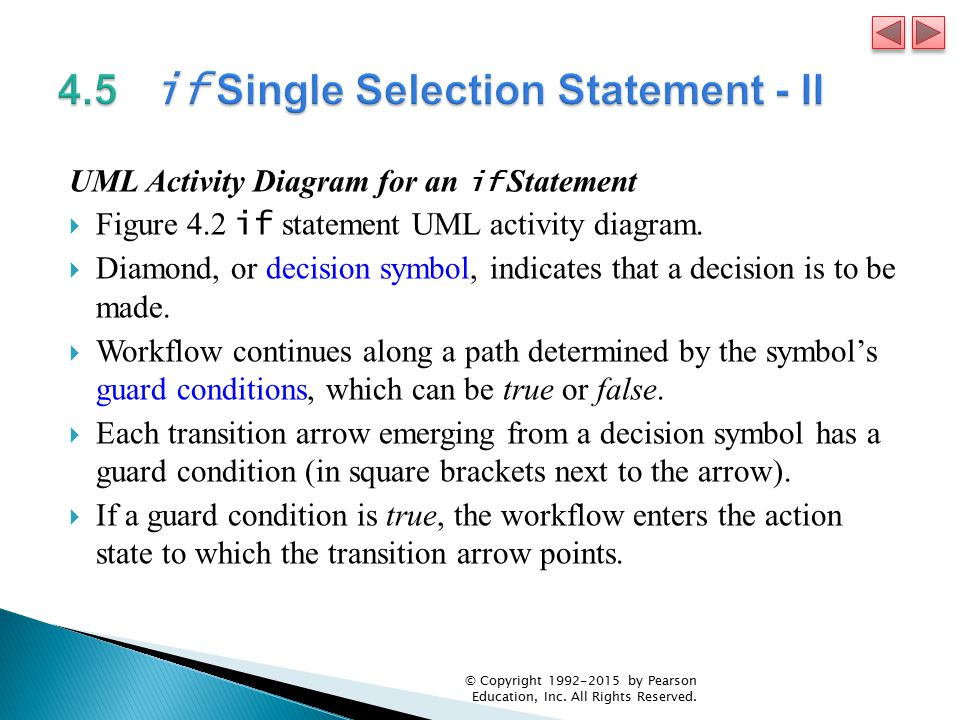 Chapter 4 Control Statements: Part I; Assignment, ++ and ...