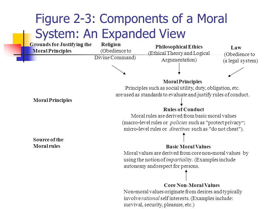 ethics and morality the term ethics is derived from ethos greek  figure 2 3 components of a moral system an expanded view