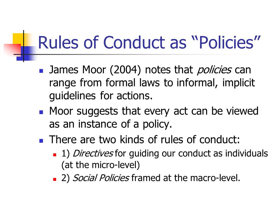 james moor policy vacuum Week 1 question 1 question 2 a policy vacuum, according to james moor, is  best described as answers a occurring in new situations where.