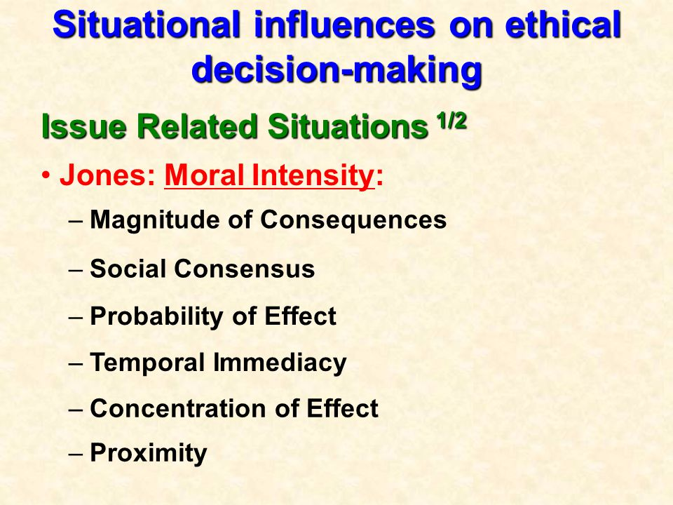 """influences on ethics The introductory articles in the topic, """"the power to influence patient care,"""" have  already defined and described power this ethics column will focus on the."""