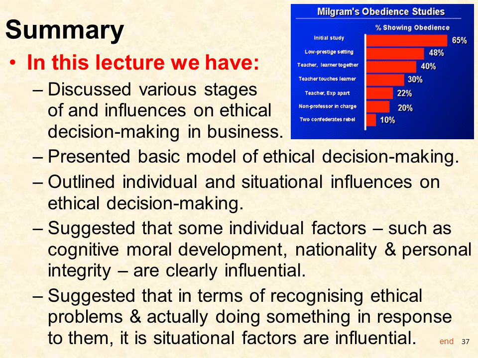 Making Decisions in Business Ethics - ppt download