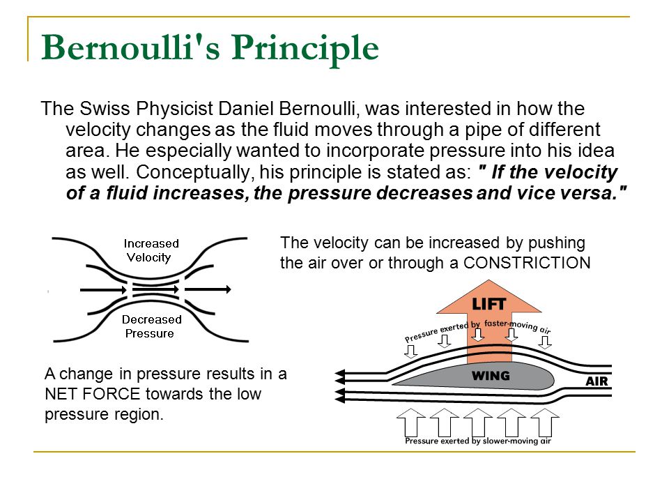 bernoulli principle Define bernoulli's principle: a principle in hydrodynamics: the pressure in a stream of fluid is reduced as the speed of the flow is increased.
