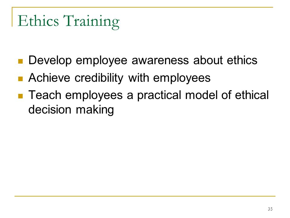 ethics programs can employees be trained In your compliance and ethics program  5 supervisors can be trained on what these mean and how to  using incentives in your compliance and ethics program.