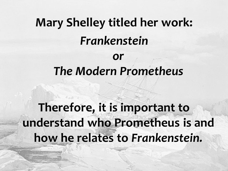 the importance of the society in mary shelleys frankenstein Politics + society  what mary shelley's frankenstein teaches us about the need for mothers  invites us to reflect on the deeper importance of mothers in our lives shelley, who published.