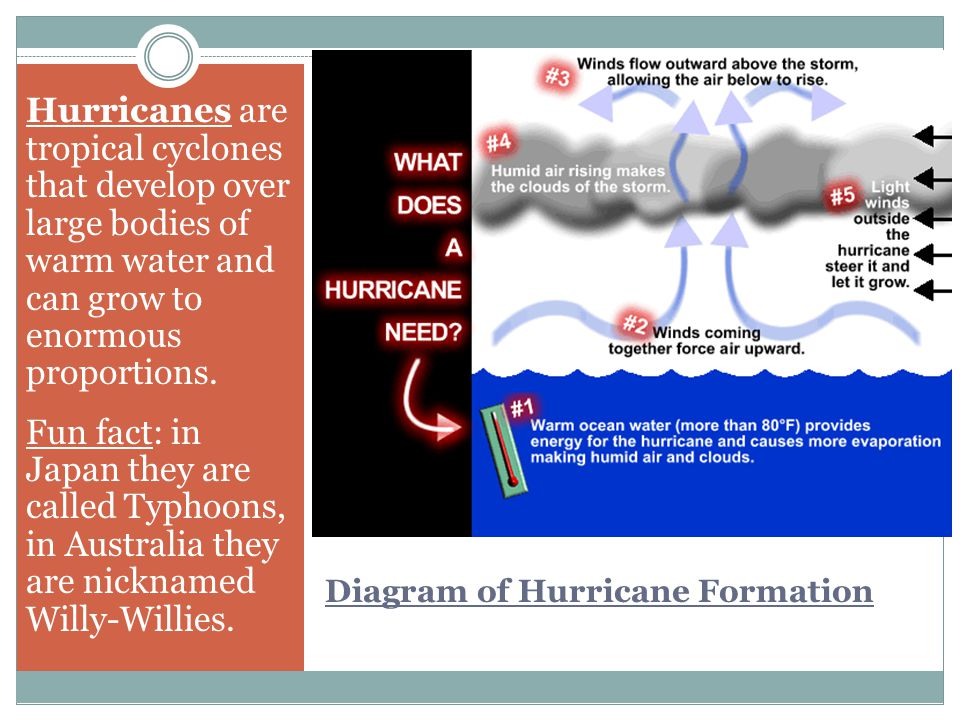 Atmosphere, Hydrosphere and Biosphere Interactions = STORMS! - ppt ...