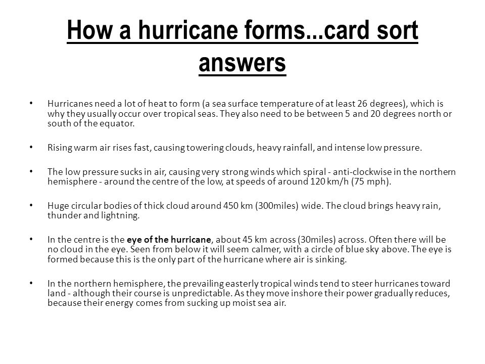 TROPICAL STORMS. - ppt download