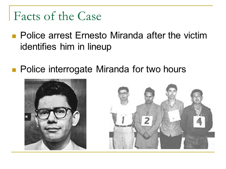 the miranda warning essay example Read this essay on the history of miranda rights come browse our large digital warehouse of free sample essays the miranda warning is intended to protect the guilty as well as the innocent and should be protected at all costs.