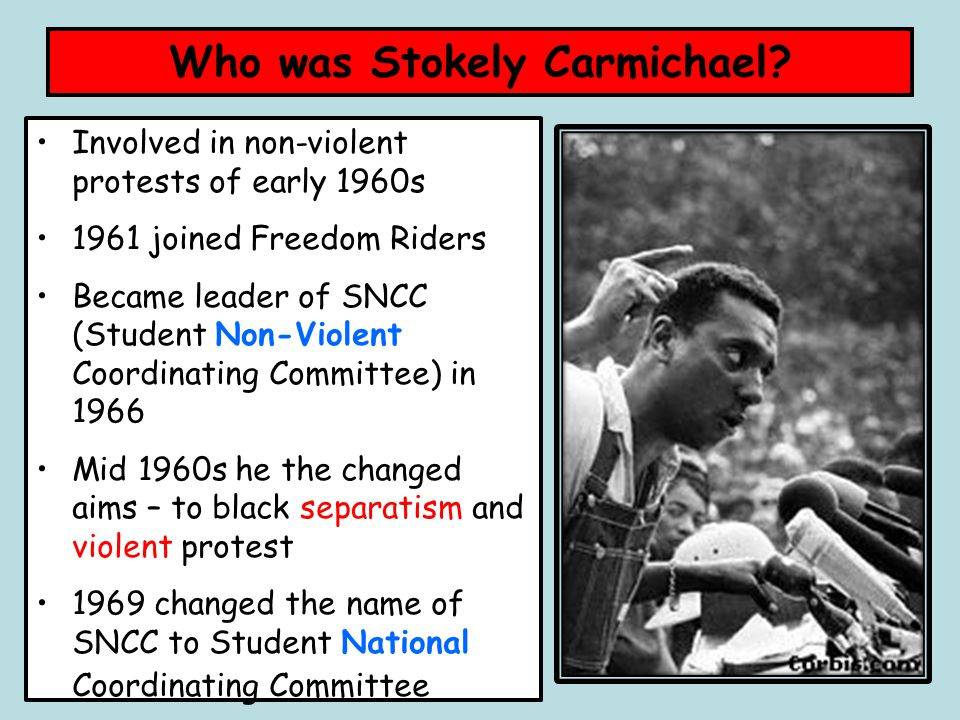 stokely carmichael a personal viewpoint essay Ideology and shame in recounting his falling out with stokely carmichael in revolutionary suicide, huey newton has to come from a more personal.