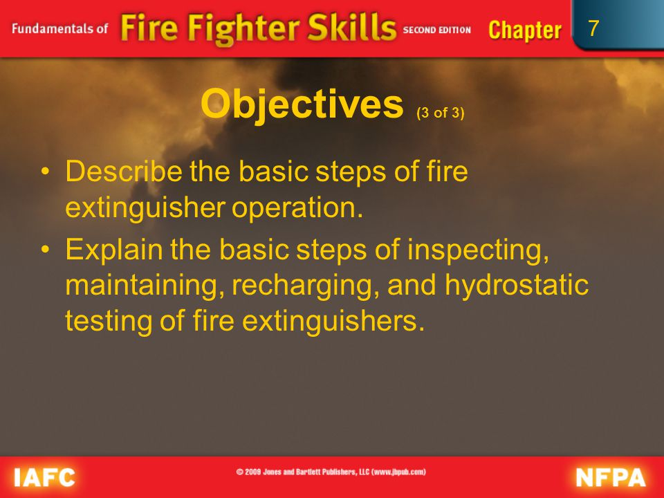 describe how to use the fire extinguisher