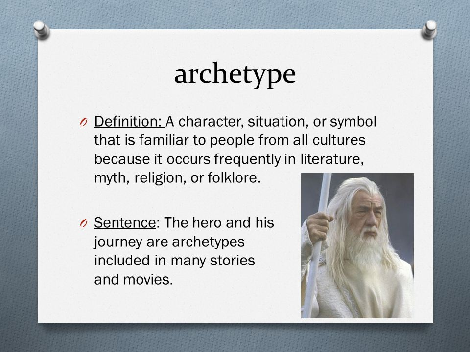 how to use archetype in a sentence
