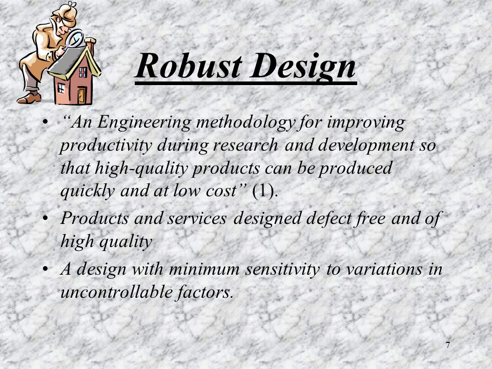 Robust Design