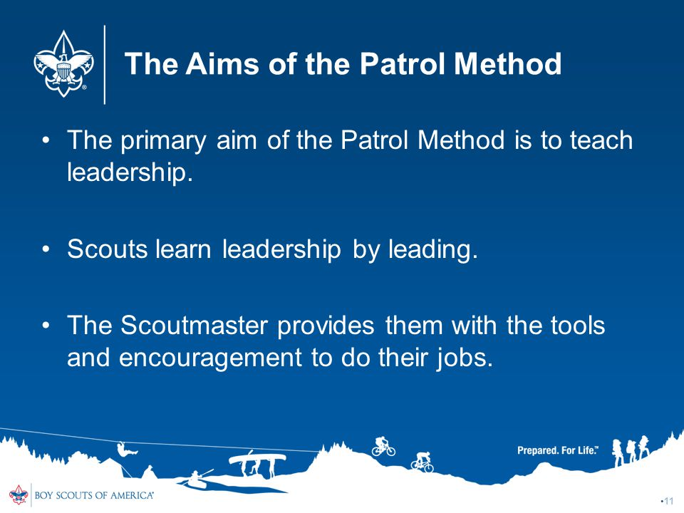 The Aims of the Patrol Method