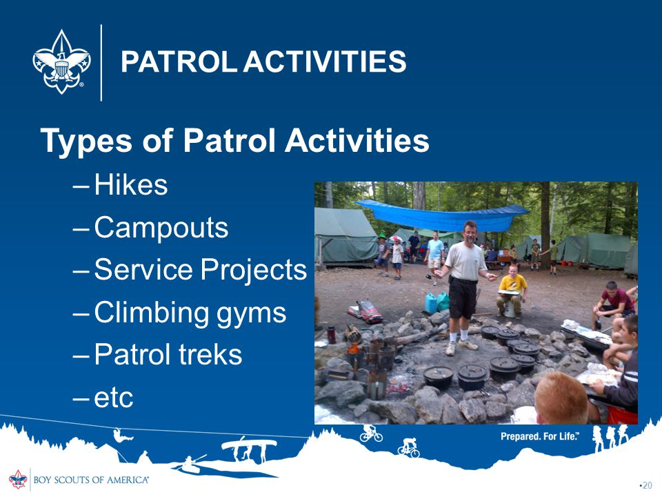 Types of Patrol Activities