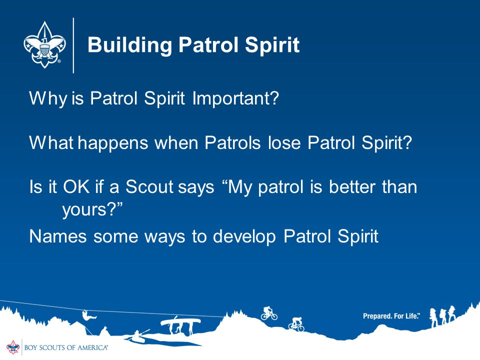 Building Patrol Spirit