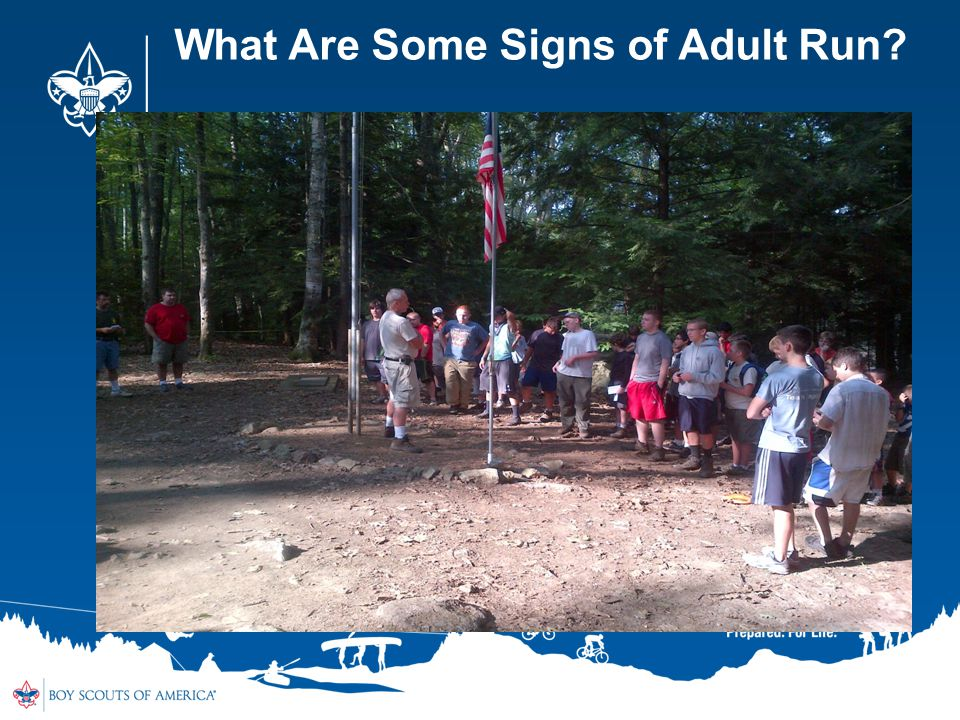 What Are Some Signs of Adult Run
