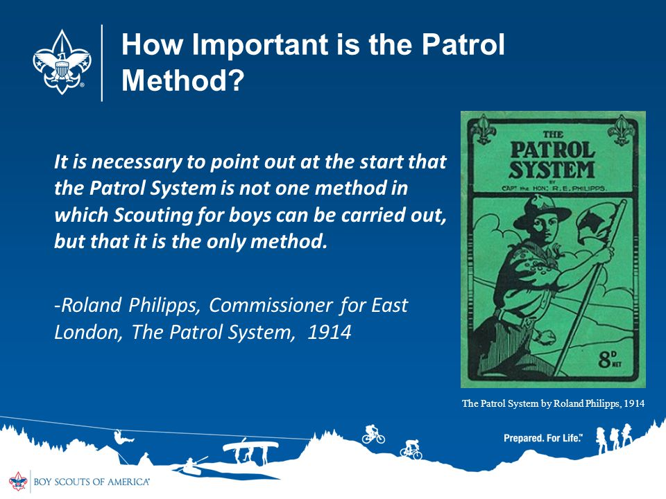 How Important is the Patrol Method