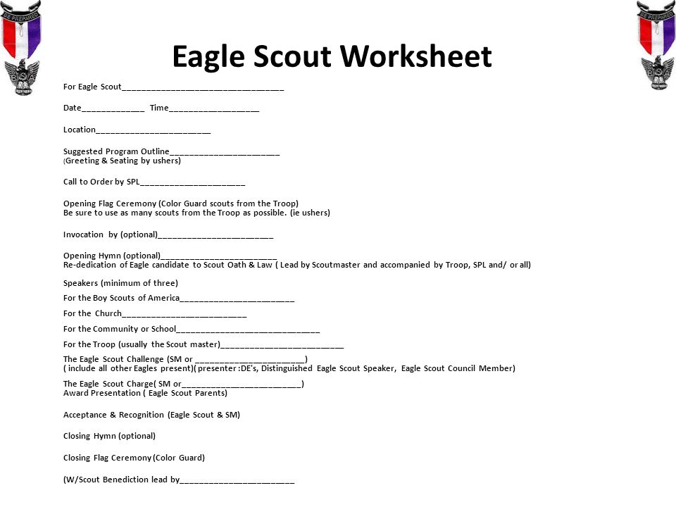 Youve Passed the Board of Review Now What ppt video online – Eagle Scout Worksheet
